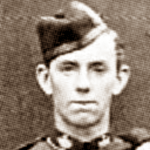 David MacDonald in dress uniform of the WA Infantry Regiment (per Gill, Fremantle to France p. 424)