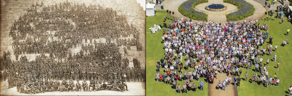 Together 100 Years Apart