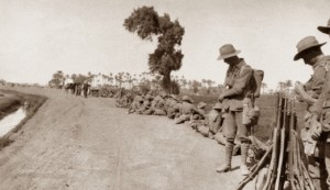 Route March from Mena Camp 1915 - per AWM-J03287