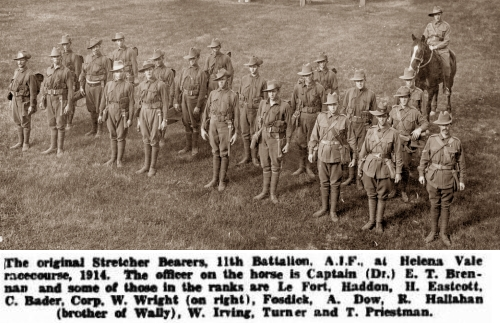 11Bn Stretcher Bearers